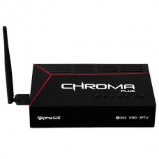 ALPHASAT CHROMA PLUS FULL HD IPTV WI-FI/USB/HDM BIVOLT